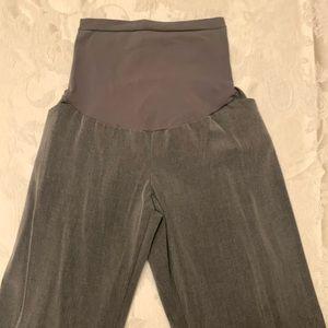 Motherhood Maternity Gray Casual dress pants